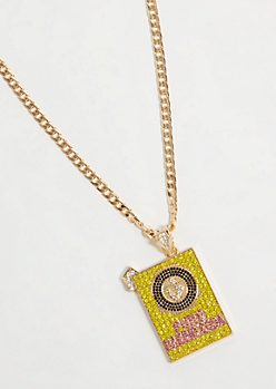 Gold Chain Baking Soda Necklace