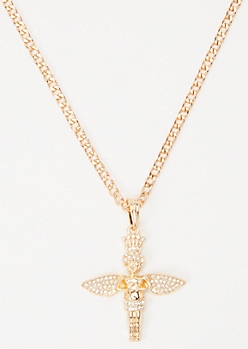 Gold Saint Necklace