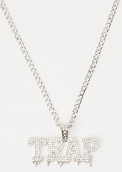 Silver Trap Necklace