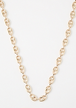 Gold Can Tab Chain