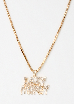 Gold Eazy Money Necklace