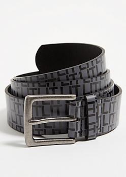 Charcoal Grey Lit Belt