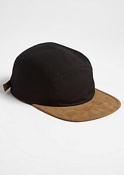 5 Paneled Contrast Camper Hat