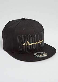 Brooklyn Stitched Snapback
