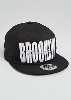 Golden Brooklyn Stitched Snapback