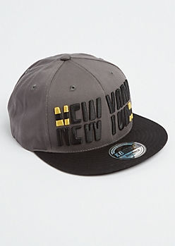 New York Sliced Snapback