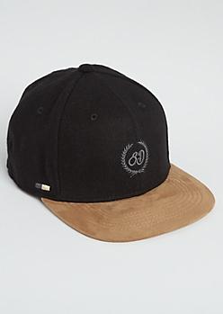 Black 8th District Snapback Hat