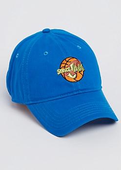 Blue Space Jam Dad Hat