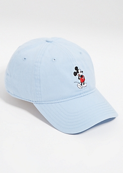 Light Blue Mickey Mouse Dad Hat
