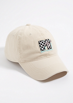 Stone MTV Logo Dad Hat