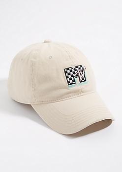 Stone MTV Logo Dad Hat