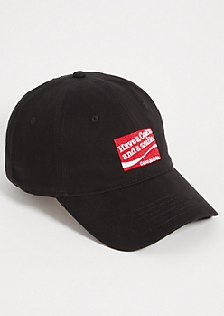 Black Have a Coke Patch Twill Dad Hat