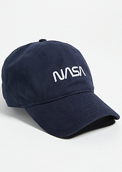 Navy NASA Logo Dad Hat