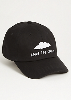 Black Above the Clouds Dad Hat