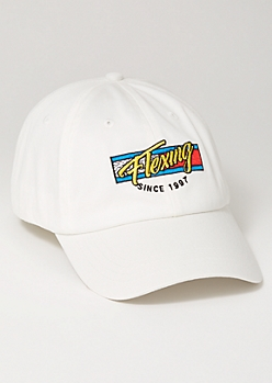 Ivory Flexing 1997 Embroidered Dad Hat
