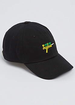 Black Water Gun Dad Hat