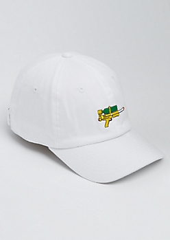 White Water Gun Dad Hat