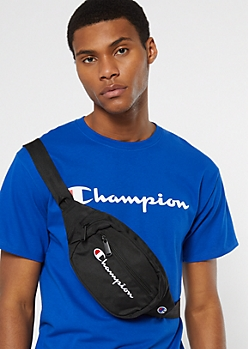 Champion Black Fanny Pack