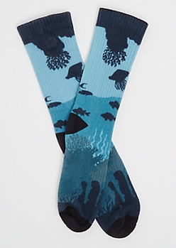 Aquatic Crew Socks By Stith