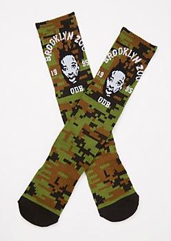 Camo Print ODB Premium Socks