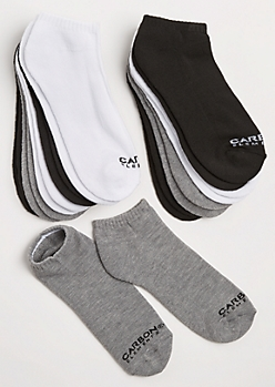 10-Pack Assorted Sneaker Socks