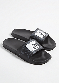 Black MTV Slides