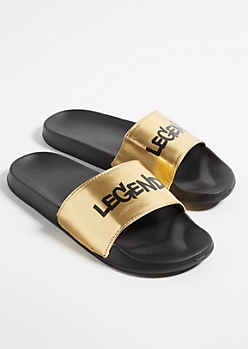 Metallic Gold Legend Slides