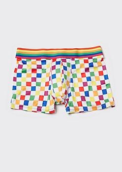 Rainbow Checkerboard Trunks