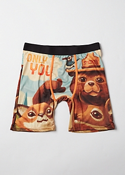 Smokey The Bear Licensed Boxer Briefs