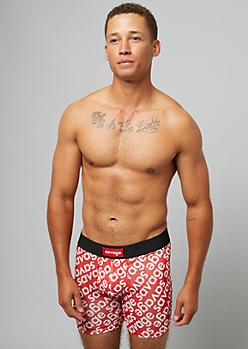 Savage Red Active Boxer Briefs