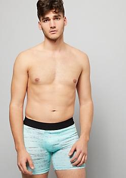Mint Space Dye Active Boxer Briefs