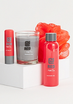 CJ Red Gift Set