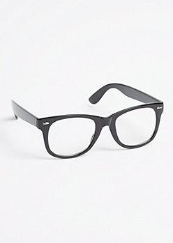 Retro Clear Lens Glasses