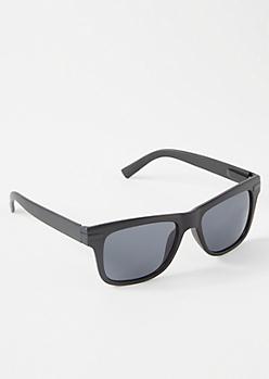 Black Matte Sporty Sunglasses