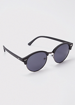 Round Smoky Sunglasses