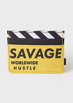 Yellow Savage Wallet