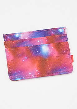 Galaxy Print Cosmic Wallet