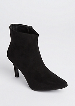 Pointed Toe Stiletto Booties