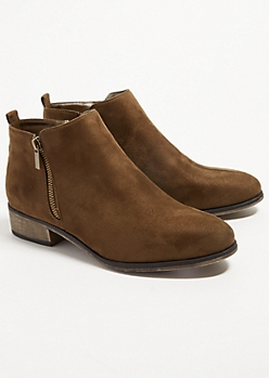 Olive Essential Short Booties