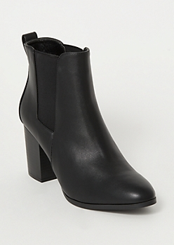 Black Side Gore Booties