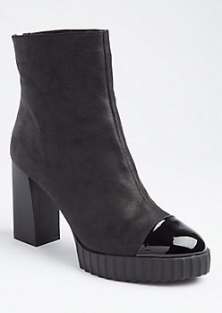Platform High Heel Booties