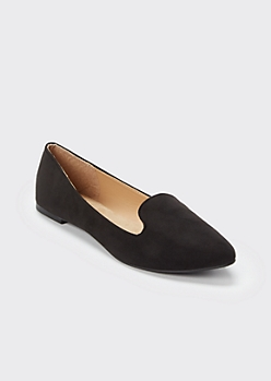 Black Pointed Toe Loafer