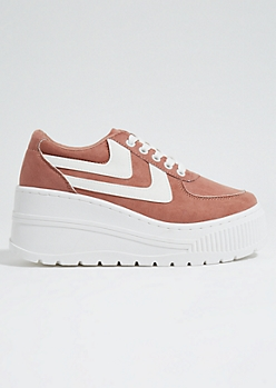 Light Pink Extreme Platform Sneakers