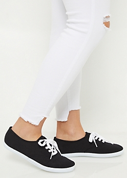 Black Favorite Canvas Sneakers