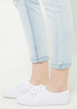 White Favorite Canvas Sneakers