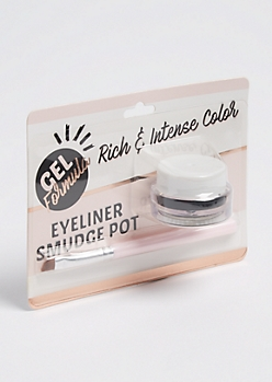 Black Gel Eyeliner Smudge Pot