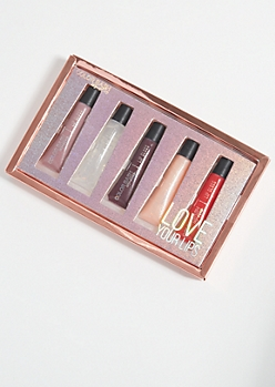 5-Pack Love Your Lips Lip Gloss Set