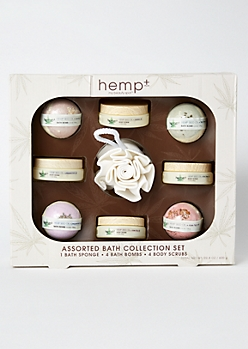 9-Pack Hemp Bath Gift Set