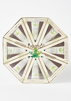 8-Pack Hemp Hand Cream Gift Set