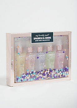 5-Pack Glitter Body Mist Set